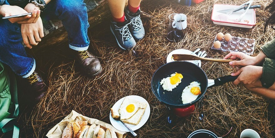 recommended tools for camping breakfast